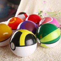 abs ball - New Style ABS Action Anime Figures cm Pikachu Figure PokeBall Fairy Ball Super Ball poke Ball Kids Toys Gift