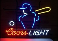 advertisement games - Coors Light Baseball Player Sport Neon Sign Club PUB Game Sign Display Advertisement Sign Real Glass Tube Sign Handcrafted Neon Sign quot X15 quot