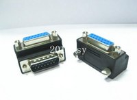 angled vga cable - Angled Degree VGA pin Male To VGA Female Right Angle Adapter Converter