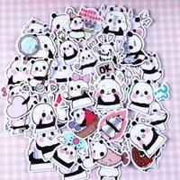 baby panda photo - 40pcs Self made Cue Baby Panda Scrapbooking Stickers DIY Craft DIY Sticker Pakc Photo Albums Deco Diary Deco