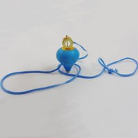 Wholesale Plastic Spinning Top With Thread Small Cartoon Toys for Children and Kids peg top mix color cm