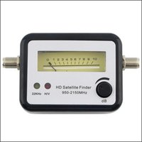 Wholesale by dhl or ems pieces Digital Satellite Signal Finder Meter Compass DirecTV Dish FTA LNB Satellite finder SF001 MHz