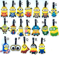 Wholesale minions Heavy Duty Baggage Luggage Tag US Seller