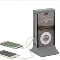 best bank advertising - Brand New Elegant mah Capacity LCD Menu Power Bank For Coffee Shop and Restaurant Best Advertising Item