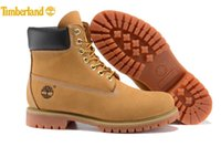 Wholesale Brand New Classic Fashion Timberland Women Inch Premium Boots Waterproof outdoor Wheat Nubuck boots size