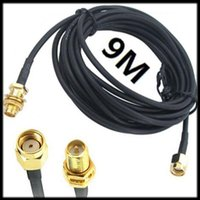 Wholesale by DHL or EMS pieces M WiFi WAN Router Wi Fi Antenna Extension Cable RP SMA