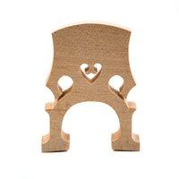 Wholesale Hot Sale Professional Cello Bridge for Size Cello Exquisite Maple Material Cello Accessories