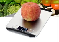 best pocket digital scale - New Arrive Kitchen Scale Cooking Measure Tools Stainless Steel Electronic Weight Pocket Digital LCD Scale KG G with gift box best