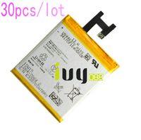 Cheap 30pcs lot 2330mah LIS1502ERPC Replacement Battery For Sony Xperia Z   C L36HLt36h L36i SO-02E C6603 C6602 S39h C2305 C6600 C660X Batteries