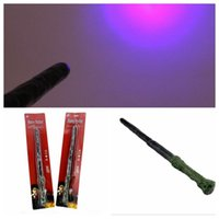 Wholesale Harry Potter Magic Wand LED Light Up Sound Wand Party Cosplay Props Hermione Magic Wand KKA765