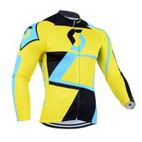 Wholesale Hot Sale SCOTT Pro Team Cycling Clothing Roupa Ciclismo Long Sleeve Autumn Breathable Bicycle Clothes GEL Pad MTB Bike Bib Pants