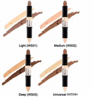 Wholesale Wonder stick highlights and contours shade stick Light Medium Deep Universal DHL