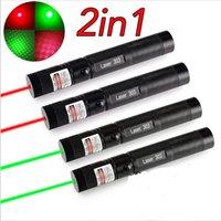 Wholesale 4PCS High Power Focus Burning Match Lazer Green Laser Pointer Caneta Laser Wireless Apresentador Red laser pointer