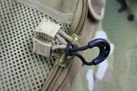 backpacking clothing - 10 Multipurpose Clothes Bag Backpack Zipper Buckle Clasp For Men Portable Secuity Survival Kits EDC Camping Gear