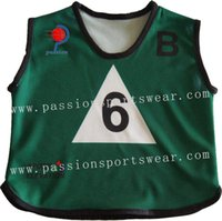Wholesale high quality Sport Bibs With Sublimation Printing Custom Design