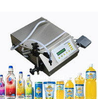 Wholesale Manual Electric Digital control pump liquid filling and sealing machine ml oil wine milk juice