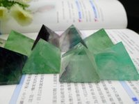 antique blue china - Natural Green Fluorite Quartz Pyramid Crystal Quartz Pyramid Ore Gems stone Energy stone Crystal Healing mm mm