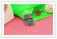 Wholesale 100pcs Furniture accessories Flat hinge square small wooden wine box small hinge hole MM MM