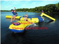 backyard water slides - Best seller m diameter water trampoline high quality ocean inflatable water trampoline park for sale