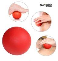 Wholesale Nature Fitness Lacrosse Massage Balls Lacrosse Balls Massage Balls