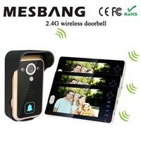 Wholesale Wireless Video Door Intercom Door Phones Door Bell No Need Cable to Install