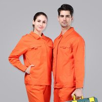 auto tooling - SET OF COAT PANTS long sleeve cotton tooling uniform auto repair service uniform engineer coat