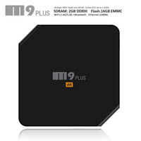 best youtube - Best Android TV Box M9 Plus Amlogic S905 M8s WiFi Set Top Box G G Build in Bluetooth KODI XBMC Internet TV Boxes