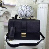 real leather designer handbags - Top Quality Real Leather Gold Hardware Shoulder Bags Handbags Women Famous Designer Brand Crossbody Bag Fashion Lady Luxury Messenger Bag