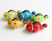 Wholesale Holes Cartoon Fish Ocarina Kiln fired Ceramic Alto C Legend of Zelda Zelda Ocarina Flute Musical Instruments