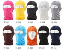 Wholesale Hot Outdoor Scarf face Sunscreen Caps Riding Motorcycle Windproof Mask Colors
