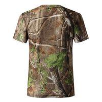 Cheap -shirt printing transfer paper Camouflage Hiking Hunting Shirts breathable CAMO hunting T-Shirt quick dry summer Hunting shirt ,polyester...