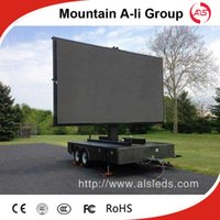 Wholesale Shenzhen Mountain A Li outdoor full color P6 rental LED display screen advertising billboard led display sign LED video wall