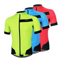 Wholesale New Men Sports Running Cycling Jersey Bike Bicycle Downhill T Shirt Short Sportswear Clothing Maillot Ciclismo Ropa Abbigliamento