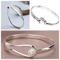 batch sterling silver - Design The Unique Charm of Three Different Style Fashion High Quality s925 Pure Silver Bracelet Can Be Mixed Batch Of