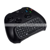 Cheap 2.4G Mini Wireless Chatpad Message Keyboard gamepad for Xbox One Xbox360 Controller Black free shipping