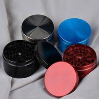 Wholesale Zinc Alloy mm Metal Herb Spice Tabocco Grinding Grinders Machine Layer Herbal Grinder Smoking Poker