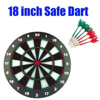 Wholesale Free DHL Safety inch Dart Board With Darts For Children Funny Magnetic Safe Dart For Home Outdoor Game With Kids