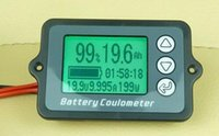 Wholesale Battery Tester Led Dispaly Soc Monitor V A For All Battery Including LiFePO4 Lithium ion Li Polymer Battery