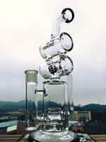 ball honey - New Hitman bong jet ball oil rig water pipe honey comb Recycler glass bongs helix perc bongs oil rig new perculator rig sofig