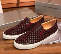 b and g - 2016 Autumn and winter mens slip on shoes brand luxury G fashion man low top shoes