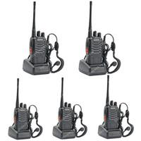 Wholesale 5x BAOFENG BF S UHF MHz W CH Ham Two way Radio Walkie Talkie LB0535