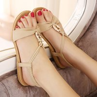 amoi shoes - Rome shoes Bohemia Amoi sandals small code code flat flat with the casual sandals