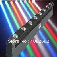 Américain 4 in1 Blanc ou RGBW DJ Sweeper LED araignée Poutre mobile dmx Lumière pour discothèque