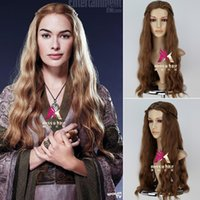 Wholesale Game of thrones The song of ice and fire The sunrise queen COS lannister anime wigs