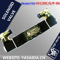 Wholesale 4V130C E P SOLENOID VALVE YASAIDA YSD replace airtac V130 FACTORY DIRECT Million times working life BEST performance price