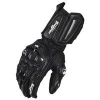Wholesale Hot Motorcycle Gloves GP PRO Real Genuine Leather Glove Carbon Fibre Men Cycling Racing Moto Motorbike Motocicleta GuantesLuvas