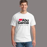 abu shirt - ABU GARCIA REEL Logo Tshirts Summer Novelty Vogue Short Sleeve T shirts Men Casual Tops T Shirts Clothing