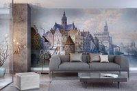 architecture backgrounds - Gewu Art American architecture European urban architecture American household background TV background background sofa the bedroom backgro