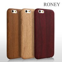apple ss - Wood Grain Soft PU Protection Case For iPhone s plus Business Ultra Thin Cell Phone Cover High Quality Cases ss