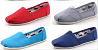 Wholesale 2016 HOT Sale charm top quality Casual flat loafer for lady men women tom ses shoes